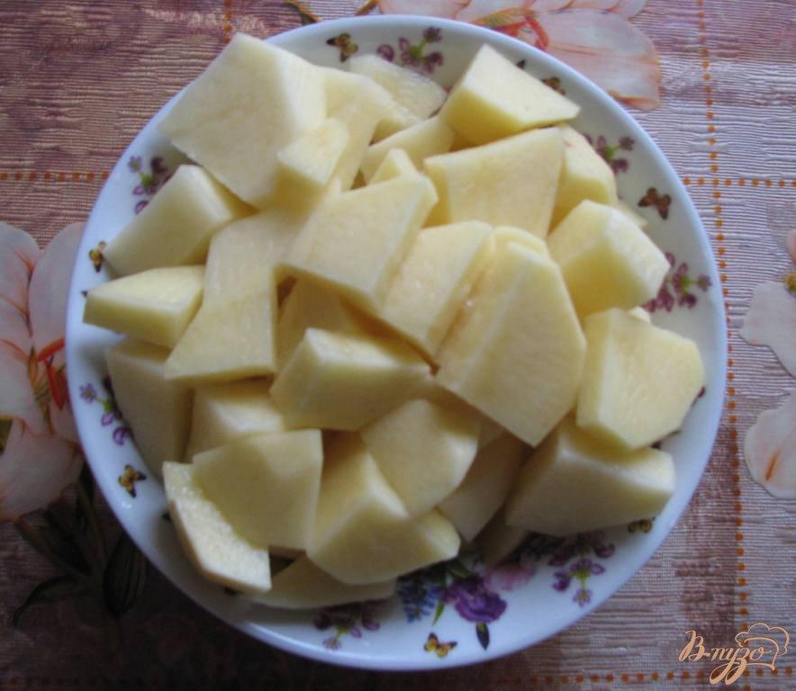 Фото приготовление рецепта: Легкий суп с перловкой шаг №1