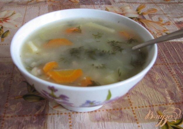 Суп с консервами скумбрияы