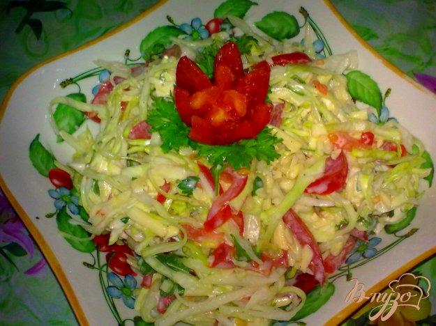 Рецепт Салат с капустой и сыром