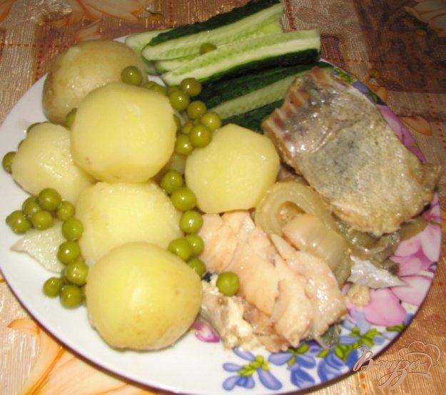 Рецепт Минтай с луком и соевым соусом