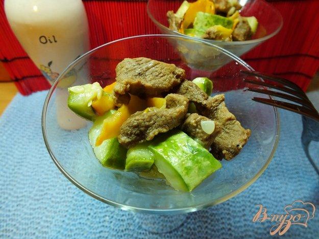 Рецепт Салат деревенский теплый с говядиной