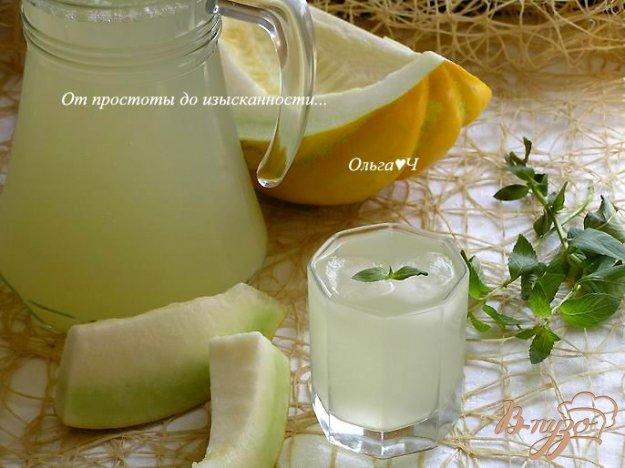 Рецепт Дынный лимонад с мятой