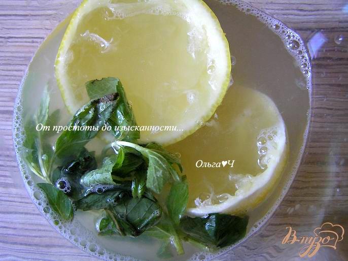 Фото приготовление рецепта: Дынный лимонад с мятой шаг №1