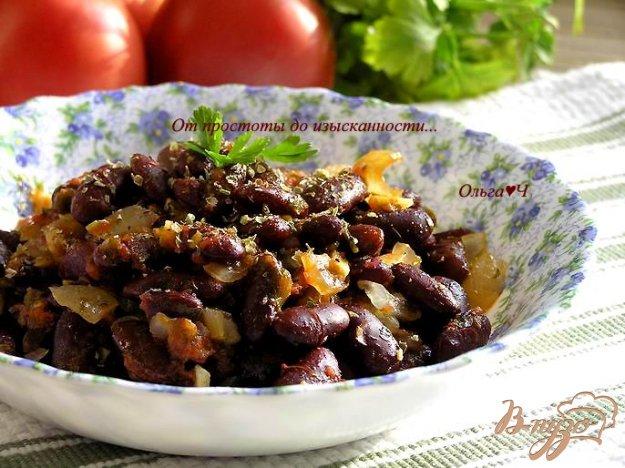 Рецепт Тушеная фасоль по-гречески