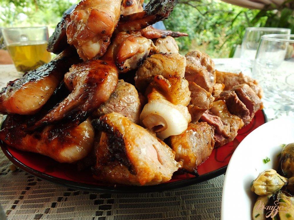Фото приготовление рецепта: Шашлык из свинины с анисом шаг №9
