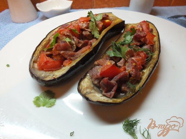 Рецепт Зразы с мясом и томатами из баклажанов