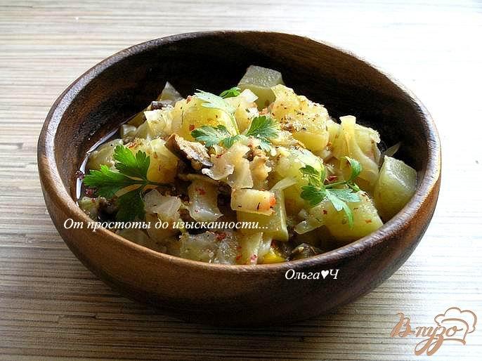 Фото приготовление рецепта: Овощное рагу (в мультиварке) шаг №7