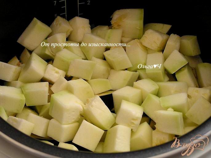 Фото приготовление рецепта: Овощное рагу (в мультиварке) шаг №3