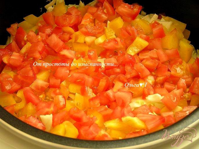 Фото приготовление рецепта: Овощное рагу (в мультиварке) шаг №5