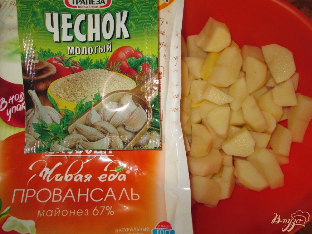 Фото приготовление рецепта: Нежная курица с картошкой в кулинарном рукаве шаг №2