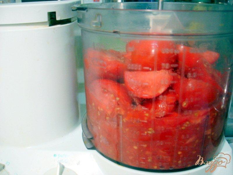 Фото приготовление рецепта: Томатный соус (заготовка на зиму) шаг №2