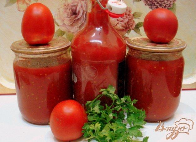 фото рецепта: Томатный соус (заготовка на зиму)