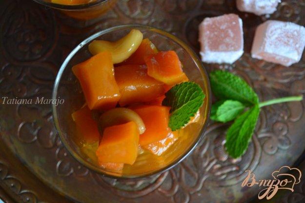 Рецепт Десерт из тыквы с орехами