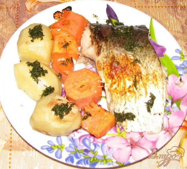 Рыба с овощами в духовке рецепт пошагово в