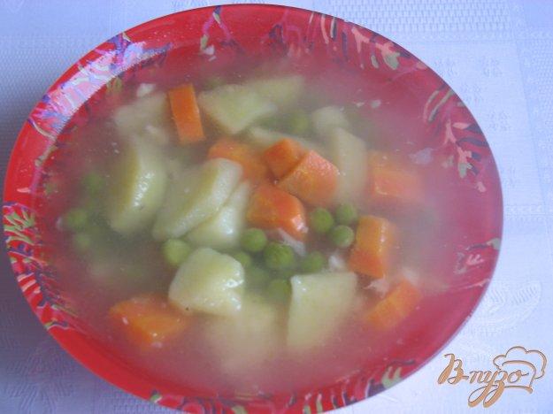 фото рецепта: Суп с зеленым горошком