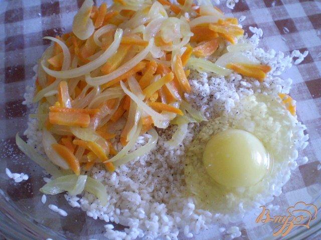 Фото приготовление рецепта: Постный фаршированный перец шаг №3