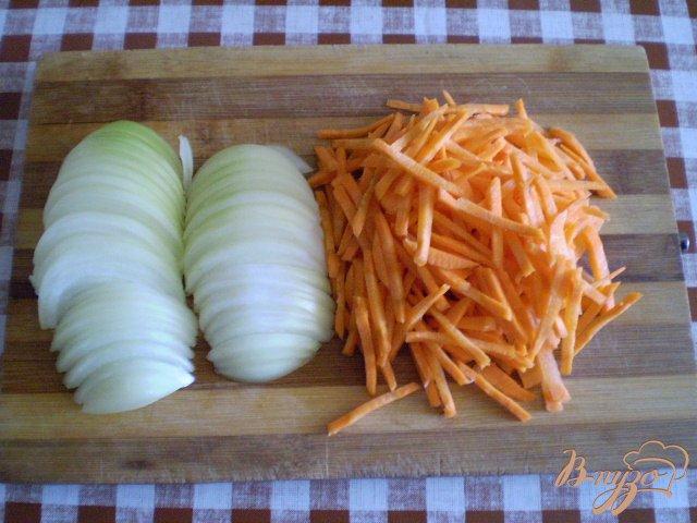 Фото приготовление рецепта: Постный фаршированный перец шаг №1