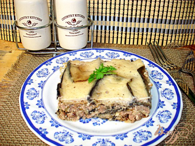 Рецепт Мусака с баклажанами