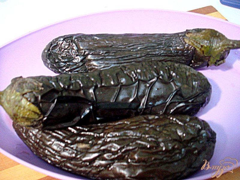 Фото приготовление рецепта: Салат из баклажанов, острый шаг №2