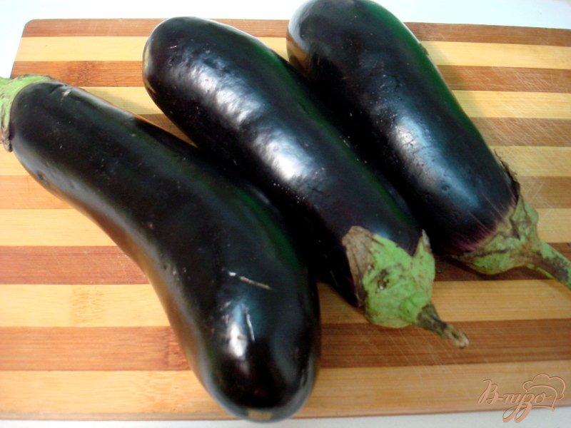 Фото приготовление рецепта: Салат из баклажанов, острый шаг №1