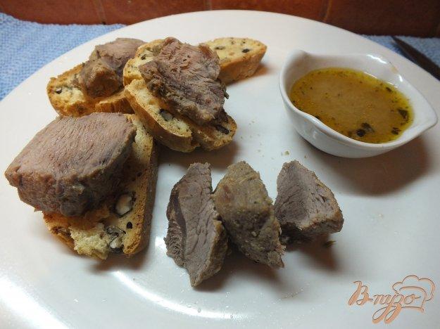 Рецепт Горчичное мясо со специями