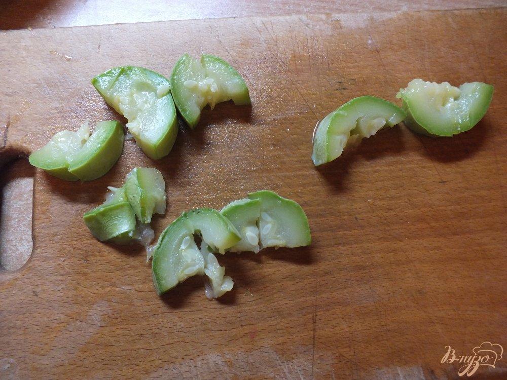 Фото приготовление рецепта: Мясной салат с отварными овощами шаг №8