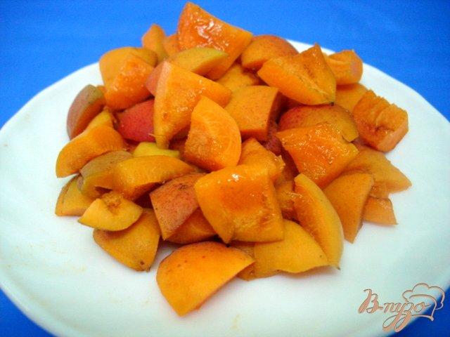 Фото приготовление рецепта: Сорбет абрикосово дынный шаг №3