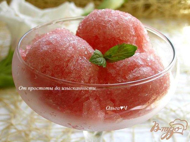Рецепт Арбузное сорбе с лимоном