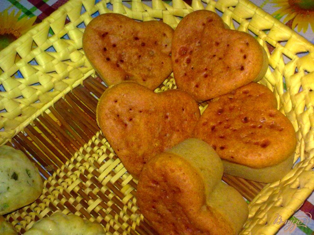 Фото приготовление рецепта: Кексы с пряностями шаг №4