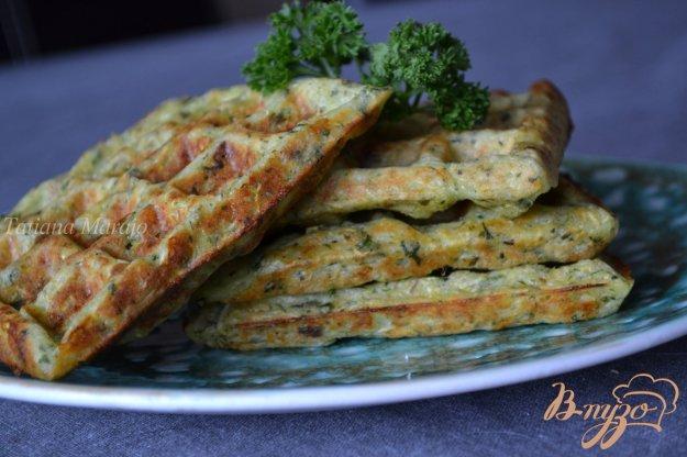 Рецепт Закусочные вафли с цукини