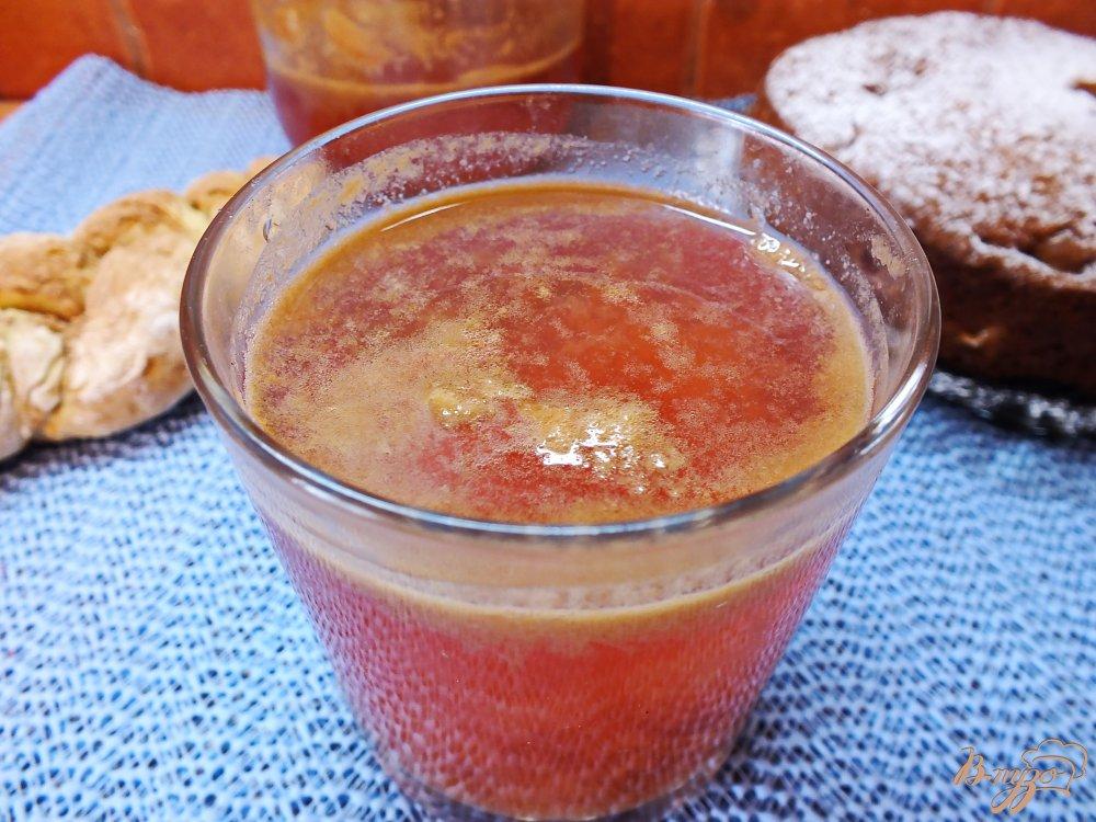 Фото приготовление рецепта: Виноградный морс