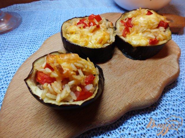 Рецепт Зразы из синих с рисом, сыром и помидорами