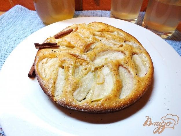 фото рецепта: Открытый яблочный пирог