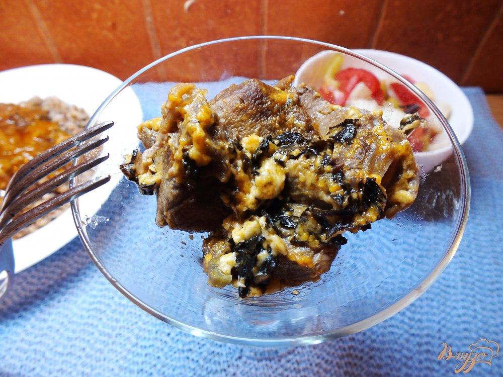 Фото приготовление рецепта: Нежнейшая говядина в духовке шаг №7