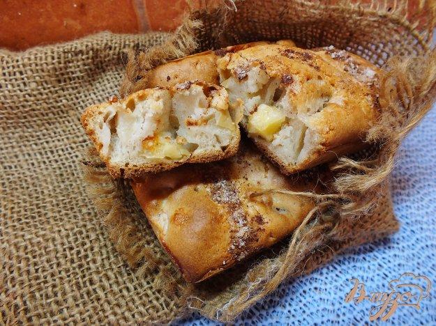 Рецепт Кексы с сыром и яблоками