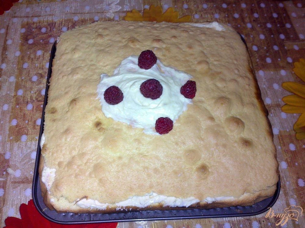 Фото приготовление рецепта: Пирог  к чаю шаг №9