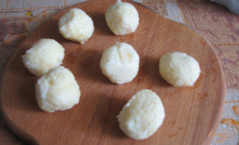 Фото приготовление рецепта: Крокеты творожные шаг №2