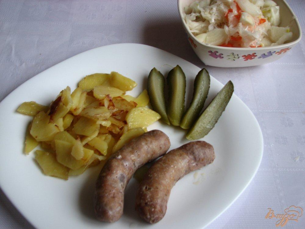 Фото приготовление рецепта: Колбаски на пару в мультиварке. шаг №4