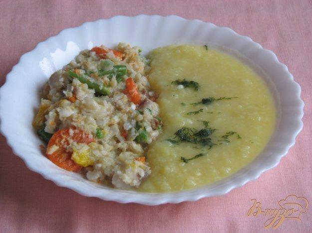 фото рецепта: Тилапия с овощами