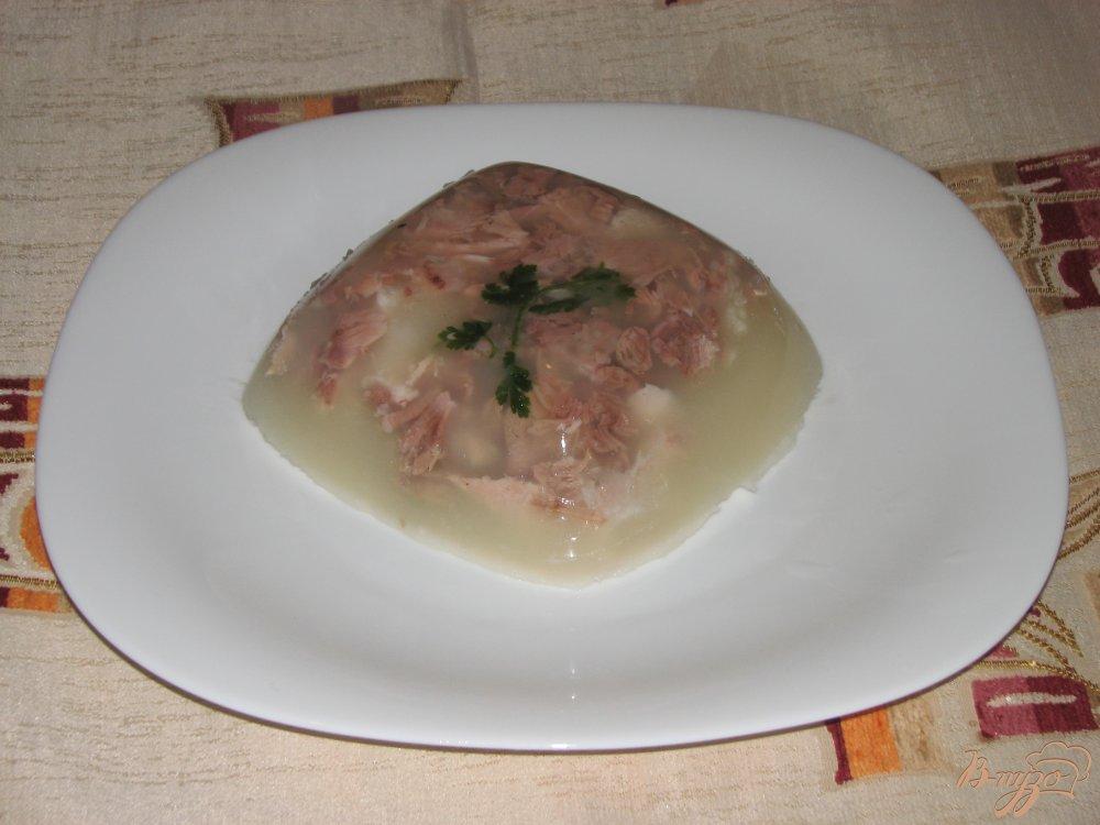 Фото приготовление рецепта: Холодец из рульки шаг №5