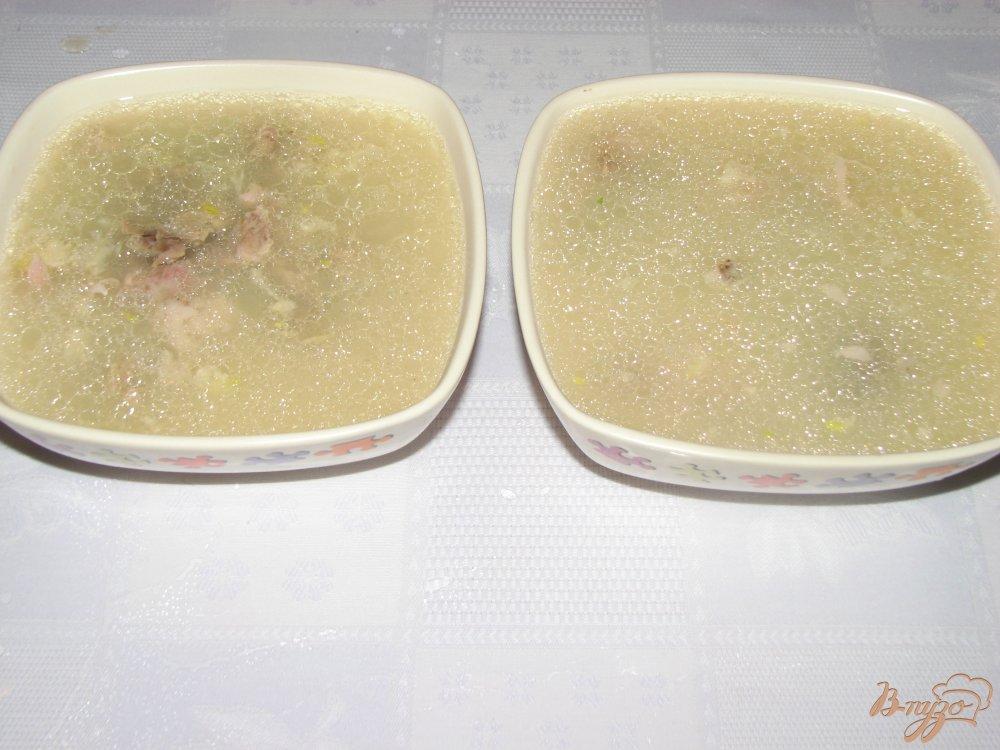 Фото приготовление рецепта: Холодец из рульки шаг №4