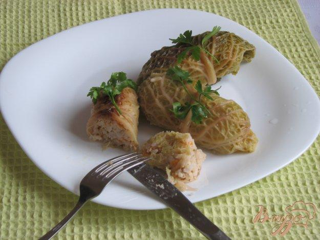 Рецепт Домашние голубцы из савойской капусты