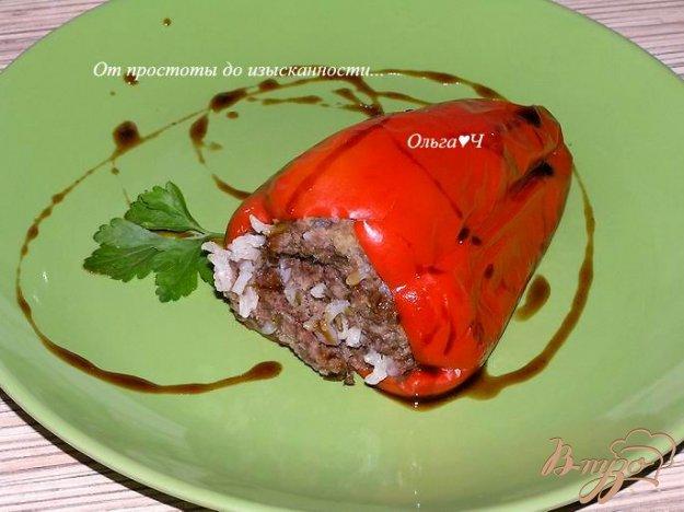 Рецепт Фаршированный перец на пару (в мультиварке )