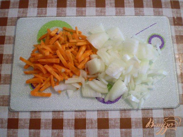 Фото приготовление рецепта: Зеленый борщ шаг №2