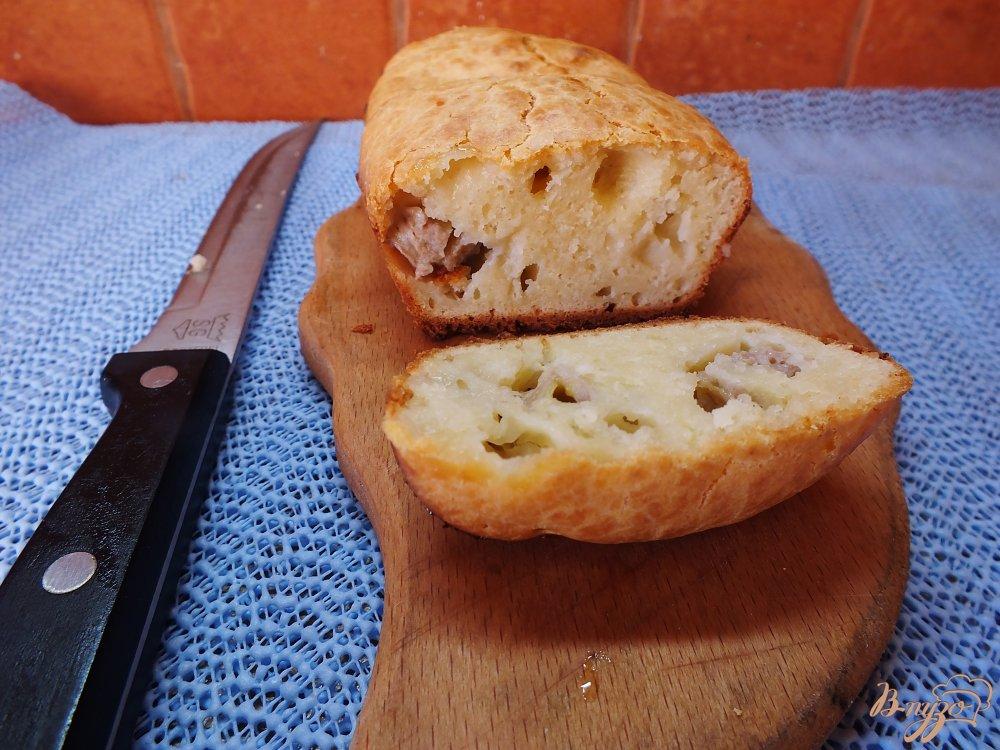 Фото приготовление рецепта: Мягкий хлеб с бананом шаг №7