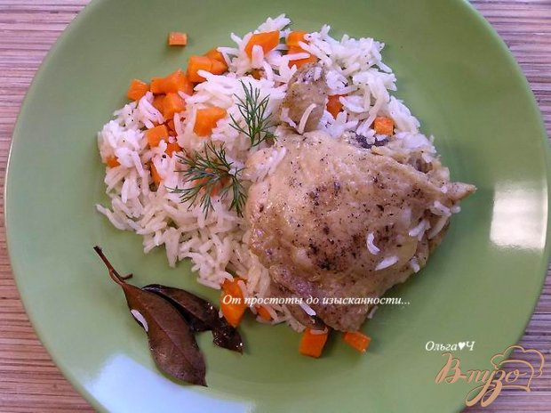 Курица с рисом (в мультиварке)