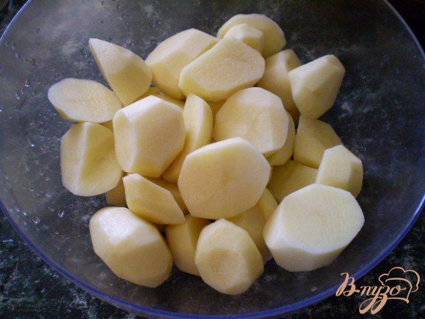 Картофелные оладьи с высивками пшеничными