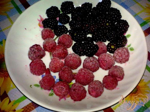 Кексы с карри и ягодами