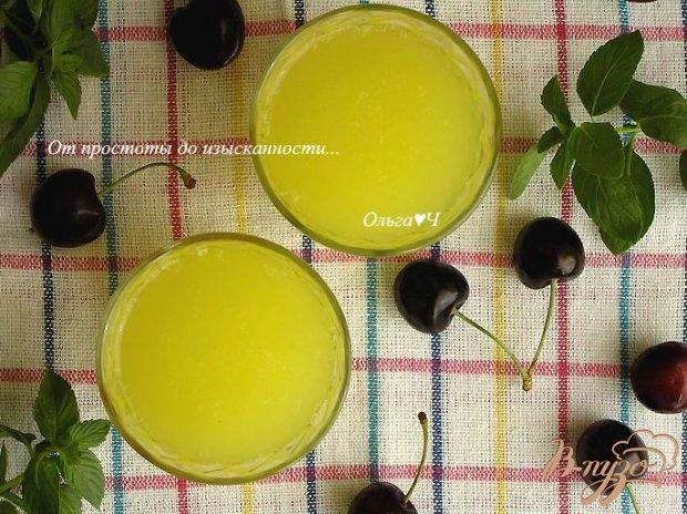 """Напиток """"Цитрусовый"""" с мятным сиропом"""
