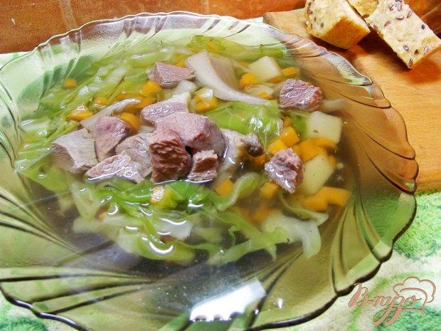 Суп из вешанок с говядиной